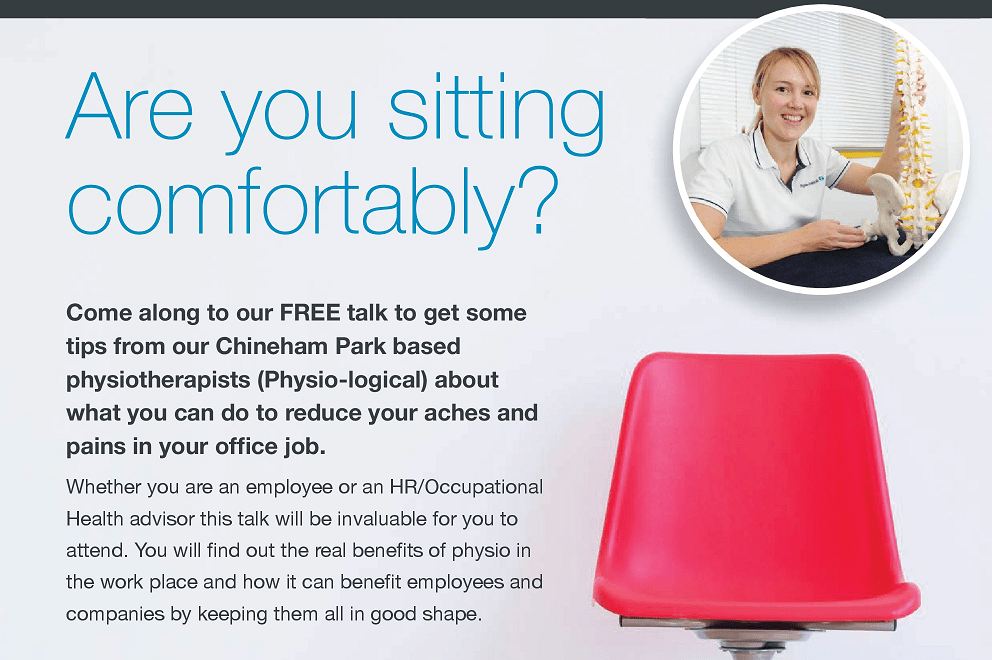 Are you sitting comfortably? – FREE Talk – 10th May