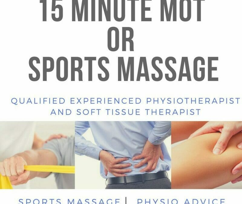 Special Offer's – Havant Physiotherapy and Sports Massage Clinic