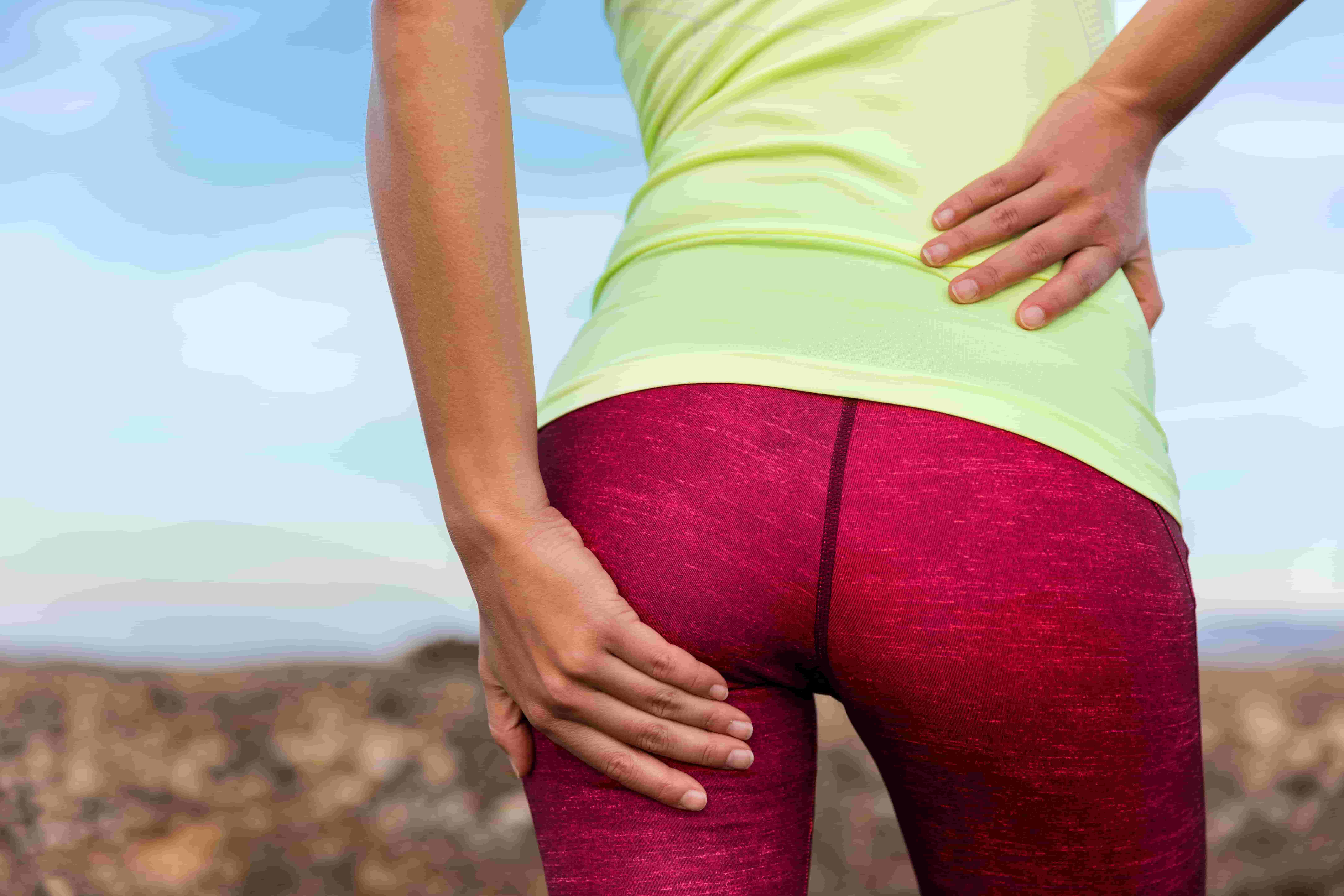 I have buttock pain what is it?