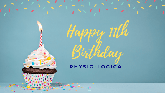 My Journey – Happy Birthday! 11 Years of Physio-logical, Hampshire in Business.