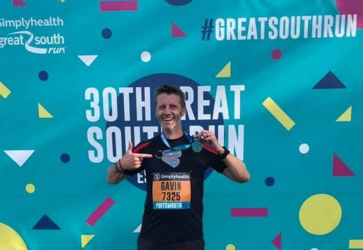 Physio-logical helped a Cowplain runner achieve his goal of completing the Great South Run