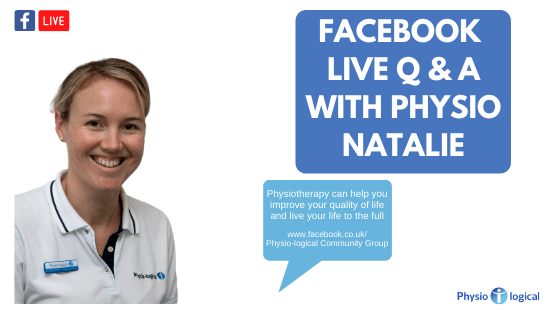 Facebook LIVE Physio Q&A – 23rd April 2020