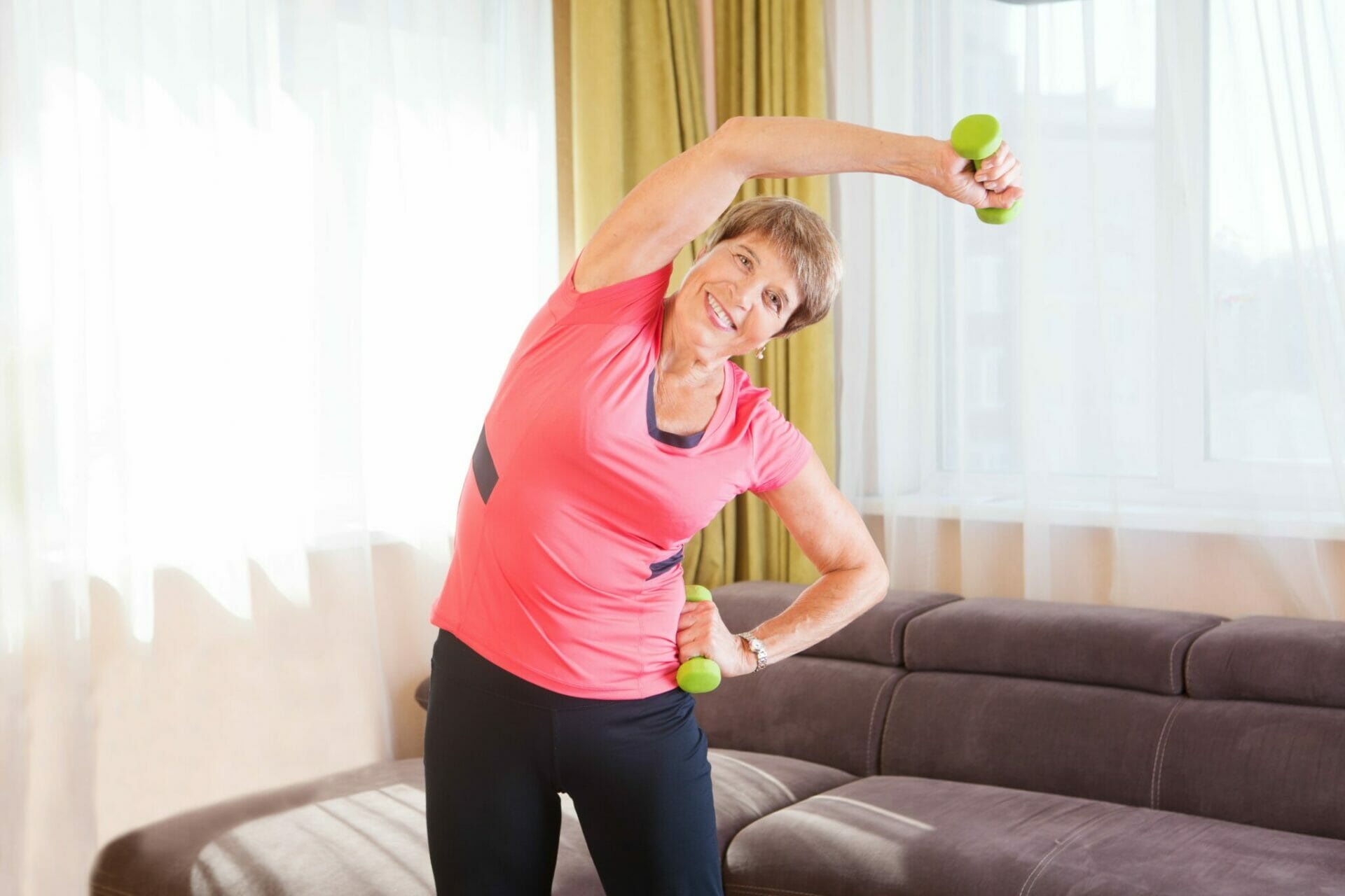 How can I stay active at home?