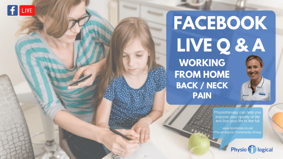 Facebook LIVE Physio Q&A – 30th April 2020 Homeworkers