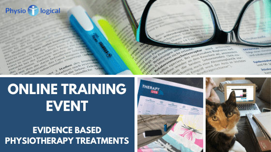 Online Training Event – Evidence Based Physiotherapy Treatments