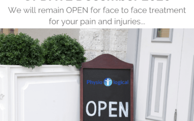 Covid Update – Keeping you safe in our Three Tier 2 Physiotherapy Clinics
