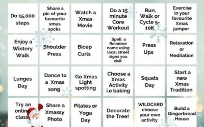 Physio-logical Fitmas Bingo Challenge