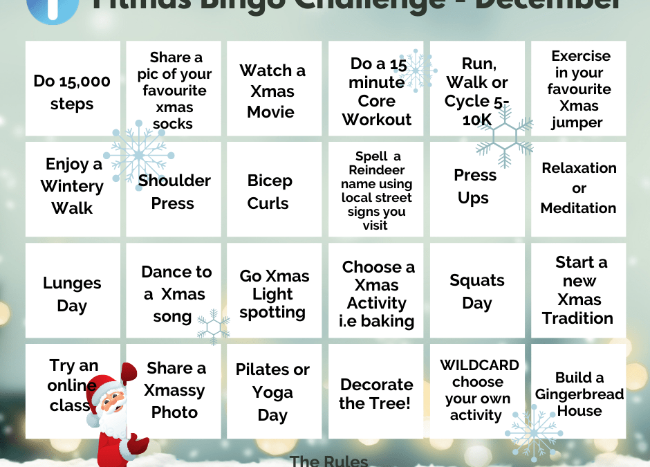 Physio-logical Fitmas Bingo Challenge