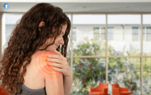 young athlete neck and shoudler pain