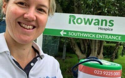 Fundraising for Rowans Hospice