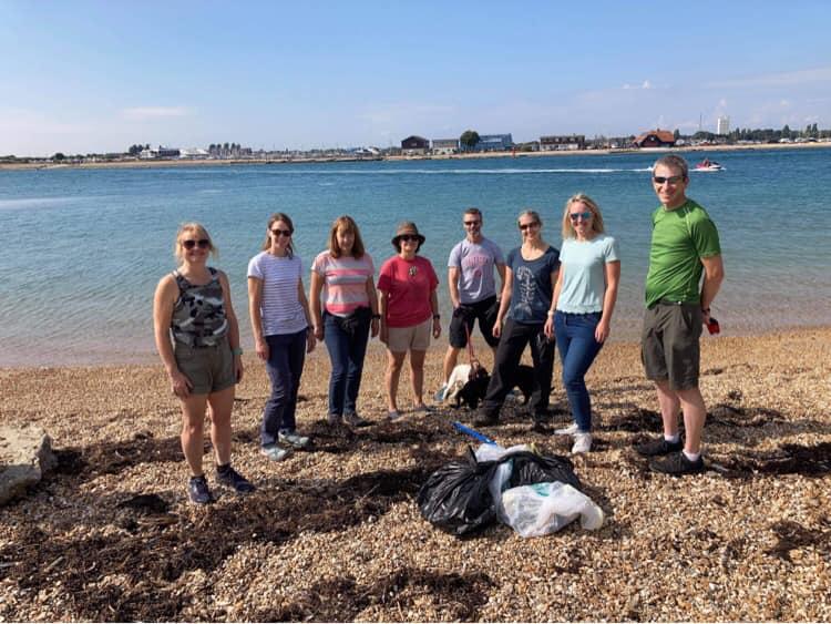 Beach Clean – Hayling Island, September 2021